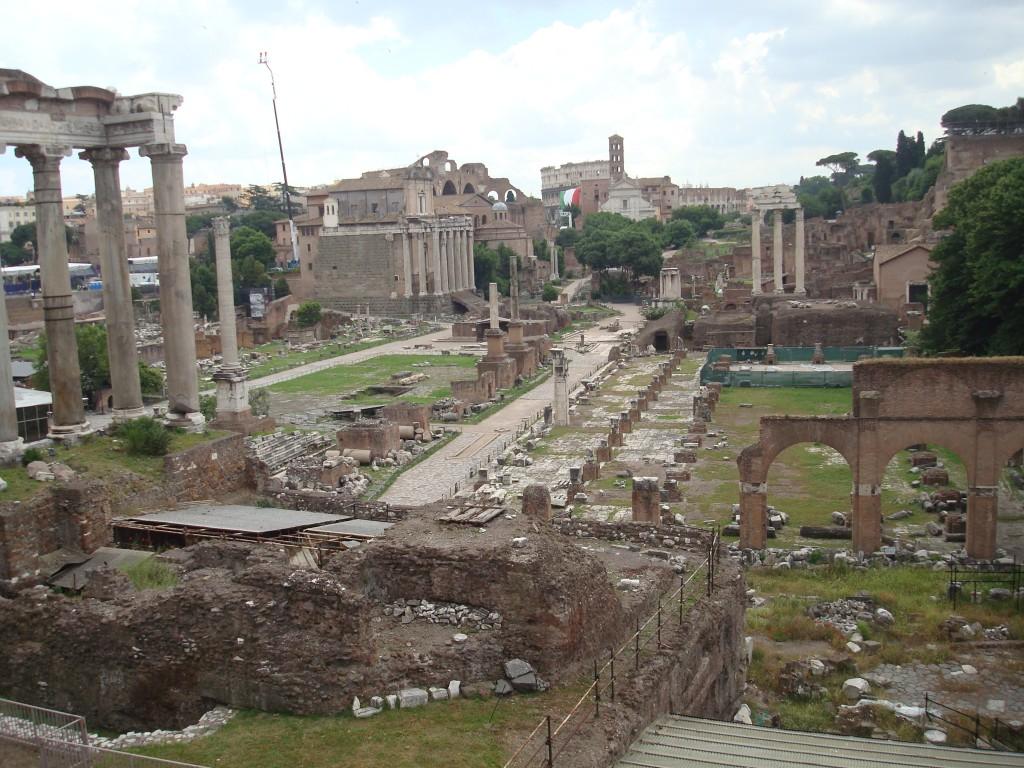 Zdjęcia: Rzym, Rzym, Forum Romanum, WłOCHY