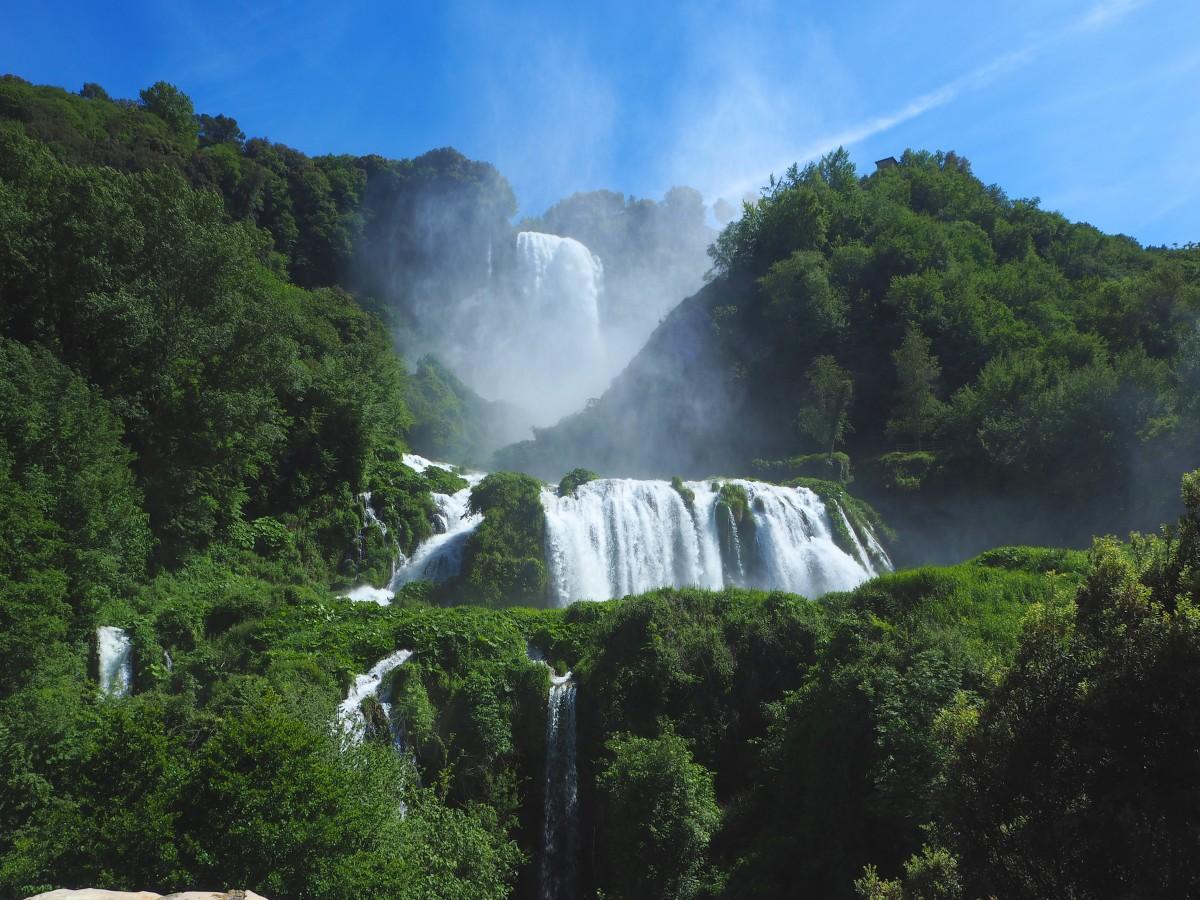 Zdjęcia: Treni, Umbria, Marmurowe wodospady, WłOCHY