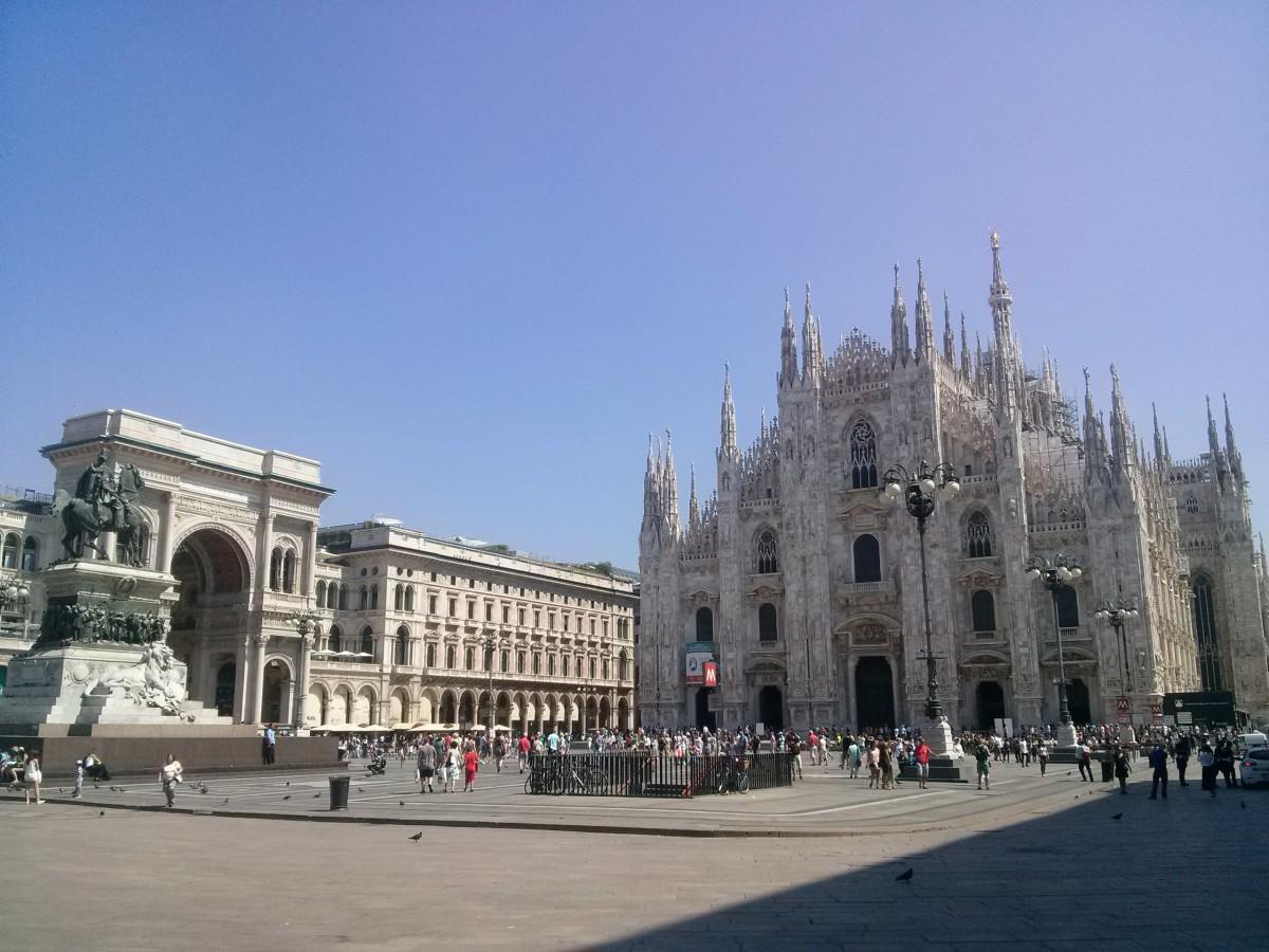 Zdjęcia: Mediolan, Lombardia, Katedra w Mediolanie, WłOCHY