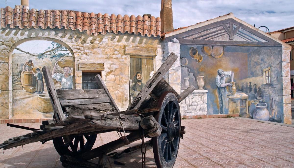 Zdjęcia: Palau, Sardynia, Palau murale 3D ;-), WłOCHY