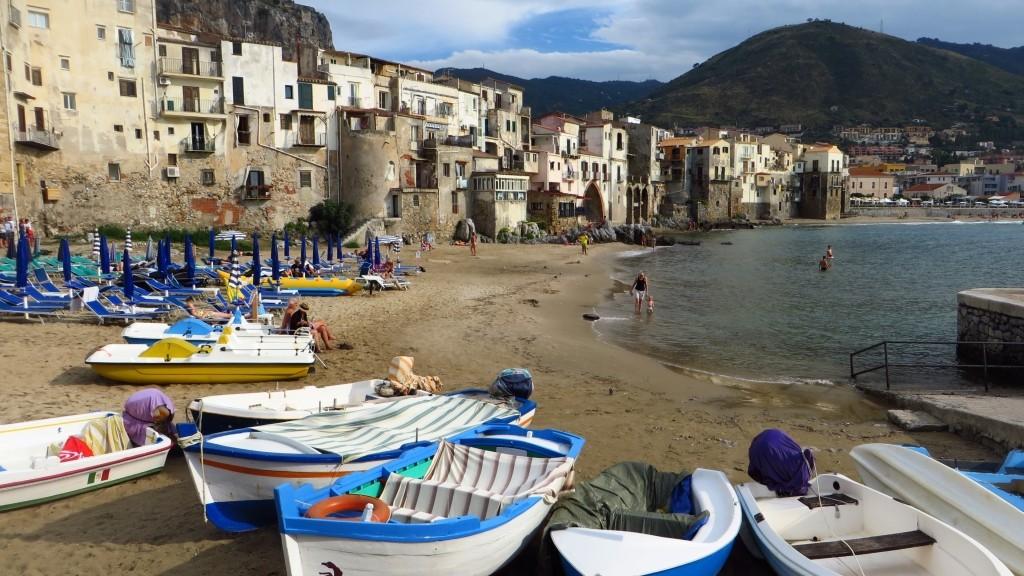 Zdjęcia: Cefalu, Sycylia, miejska plaża, WłOCHY