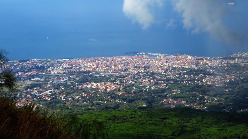 Zdjęcia: Wezuwiusz, Kampania, panorama Neapolu, WłOCHY