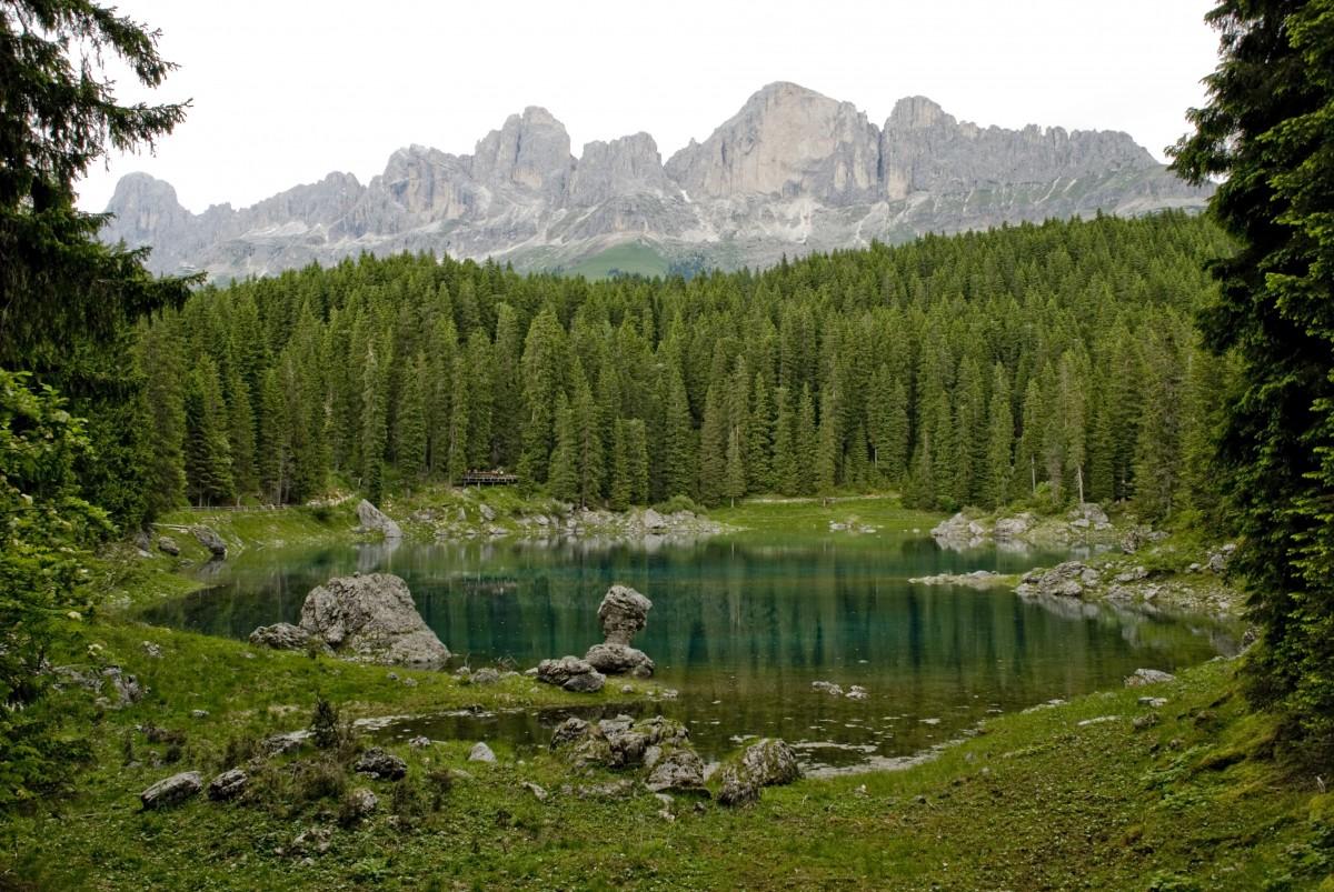 Zdjęcia: Lago di Carreza, Dolomity, Piękno otaczającego nas świata., WłOCHY