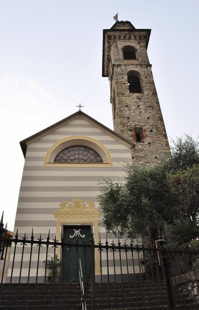 Zdjęcia: Rapallo, Liguria, Rapallo, kościół, WłOCHY