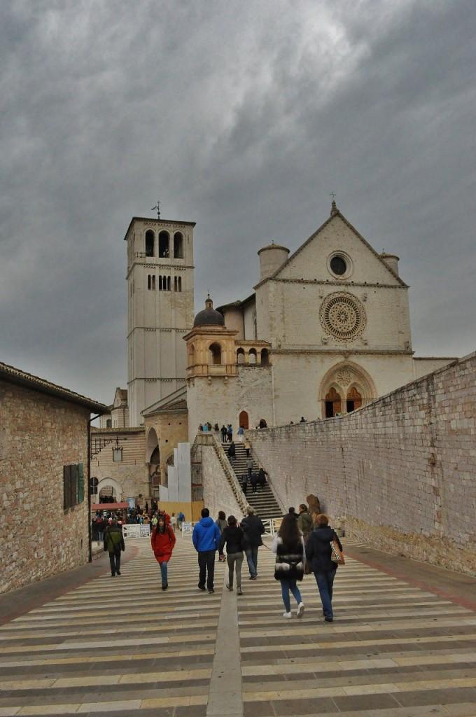 Zdjęcia: Asyż, Umbria, Asyż, klasztor i bazylika św. Franciszka, WłOCHY