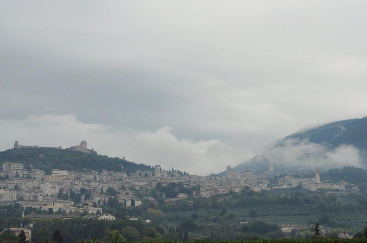 Zdjęcia: Asyż, Umbria, Asyż jesienny, WłOCHY