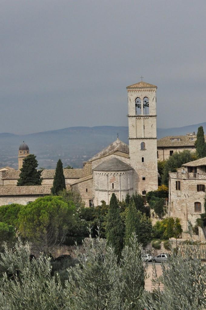 Zdjęcia: Asyż, Umbria, Asyż, widok, WłOCHY