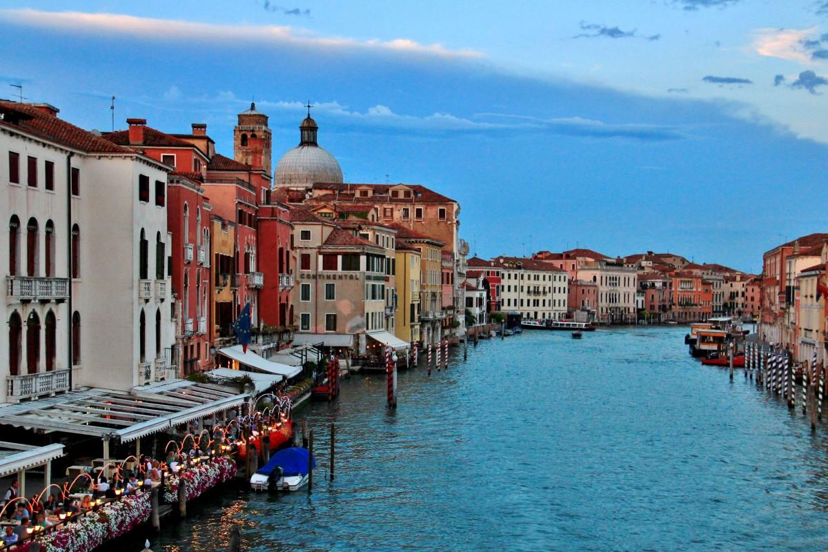 Zdjęcia: Wenecja, Wenecja Euganejska, Wenecja -  o zmierzchu, WłOCHY