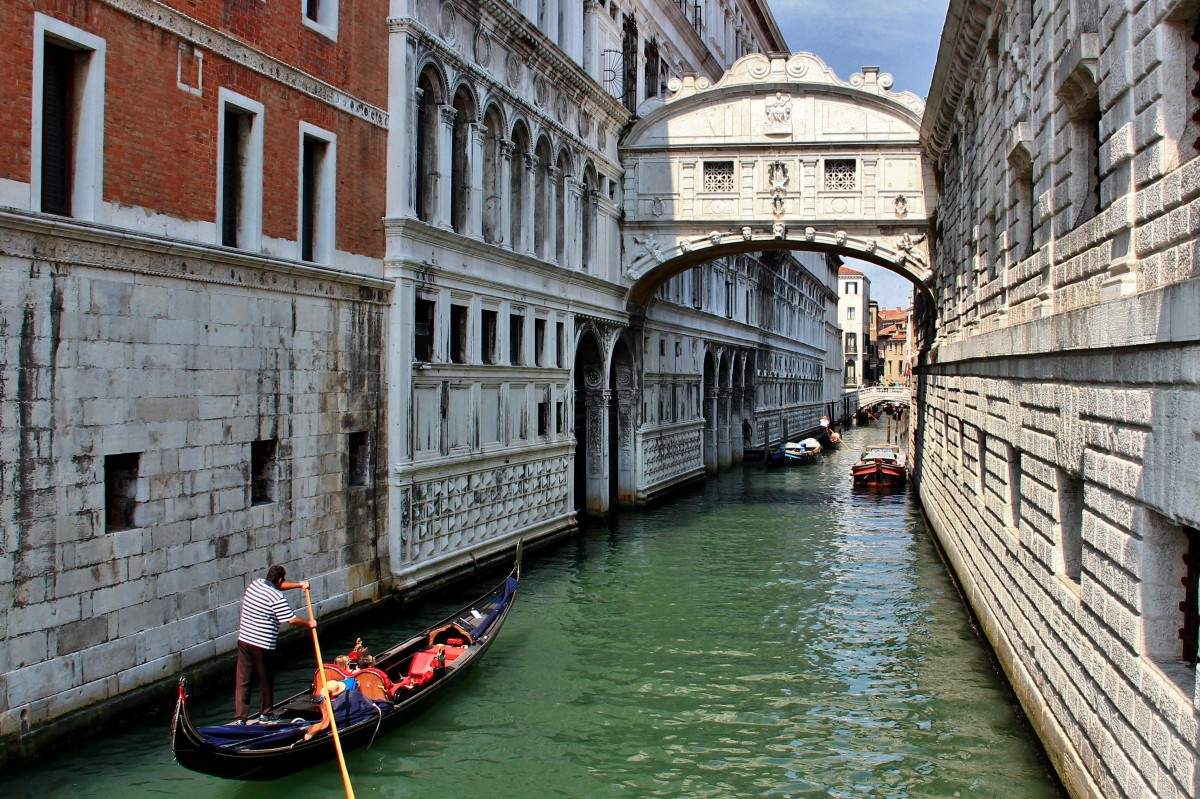 Zdjęcia: Wenecja, Wenecja Euganejska, Wenecja - Most Westchnień, WłOCHY
