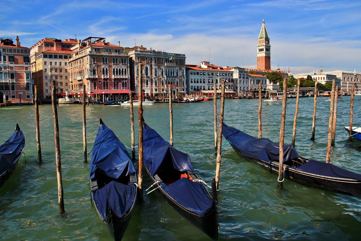 Zdjęcia: Wenecja, Wenecja Euganejska, Wenecja - gondole, WłOCHY