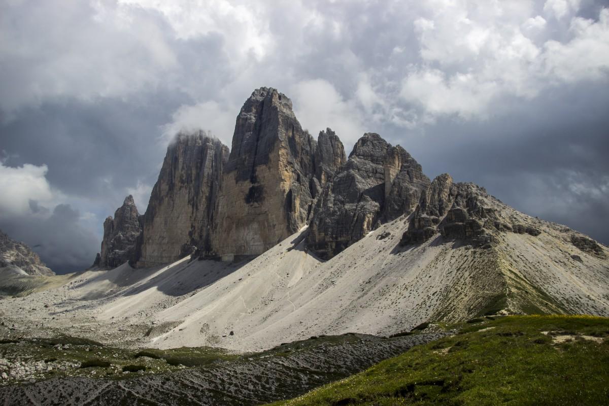 Zdjęcia: Tre Cime di Lavaredo, Dolomity, majestatyczne Tre Cime di Lavaredo, WłOCHY