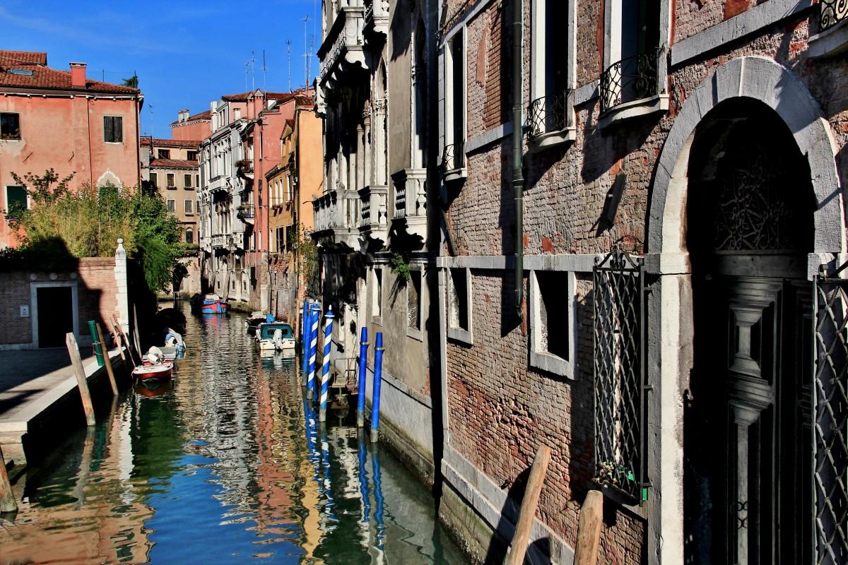 Zdjęcia: Wenecja, Wenecja Euganejska, Wenecja - zaułek, WłOCHY