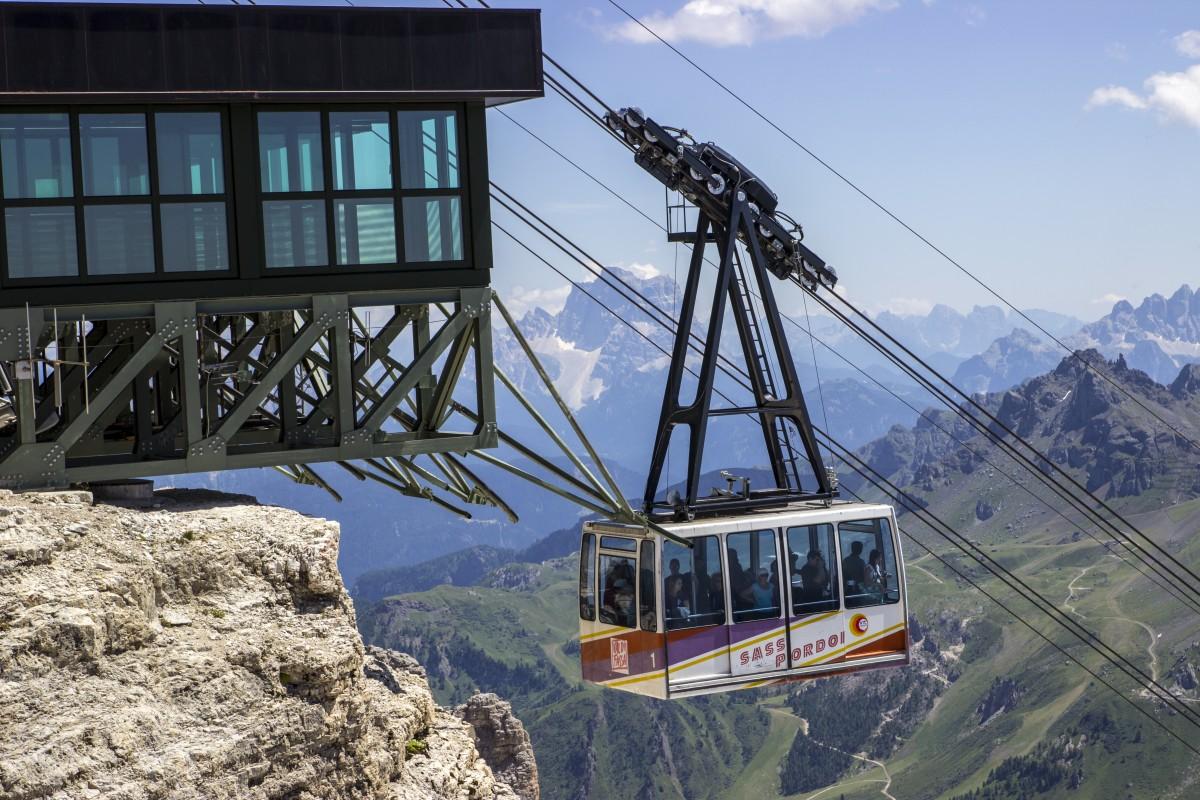 Zdjęcia: Sass Pordoi, Dolomity, Wyciąg na Sass Pordoi 2952m, WłOCHY