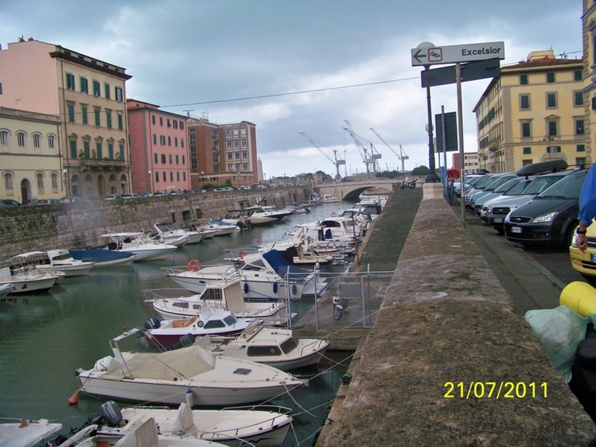 Zdjęcia: Livorno, Toskania, Livorno- duże miasto portowe nad m.Liguryjskim, WłOCHY