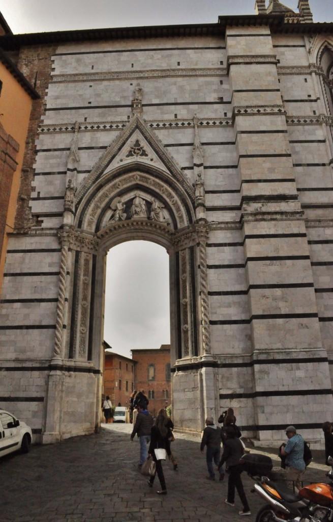 Zdjęcia: Siena, Toskania, Siena, katedra, niedokończony gmach, WłOCHY
