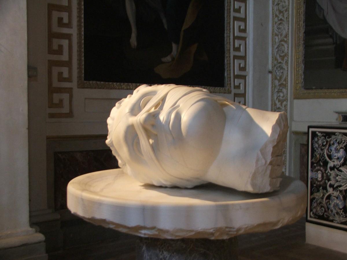 Zdjęcia: Rzym, Bazylika S. Maria degli Angeli e dei Martir, Lacjum, Rzeźba I. Mitoraja, WłOCHY