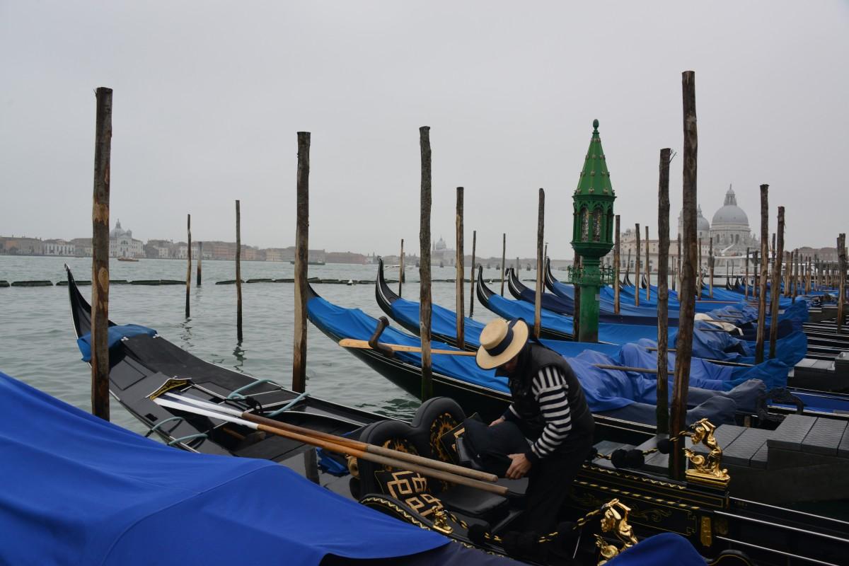 Zdjęcia: Wenecja, Wenecja, Gondole w Wenecji, WłOCHY