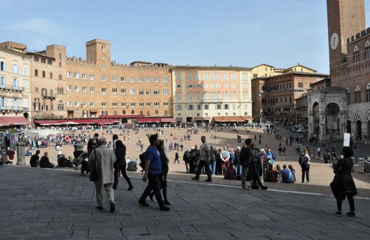 Zdjęcia: Siena, Toskania, Siena, Piazza del Campo, WłOCHY