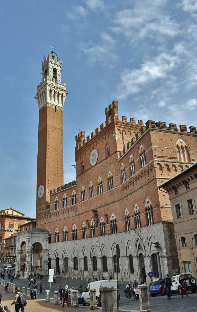 Zdjęcia: Siena, Toskania, Siena, Torre del Mangia, WłOCHY