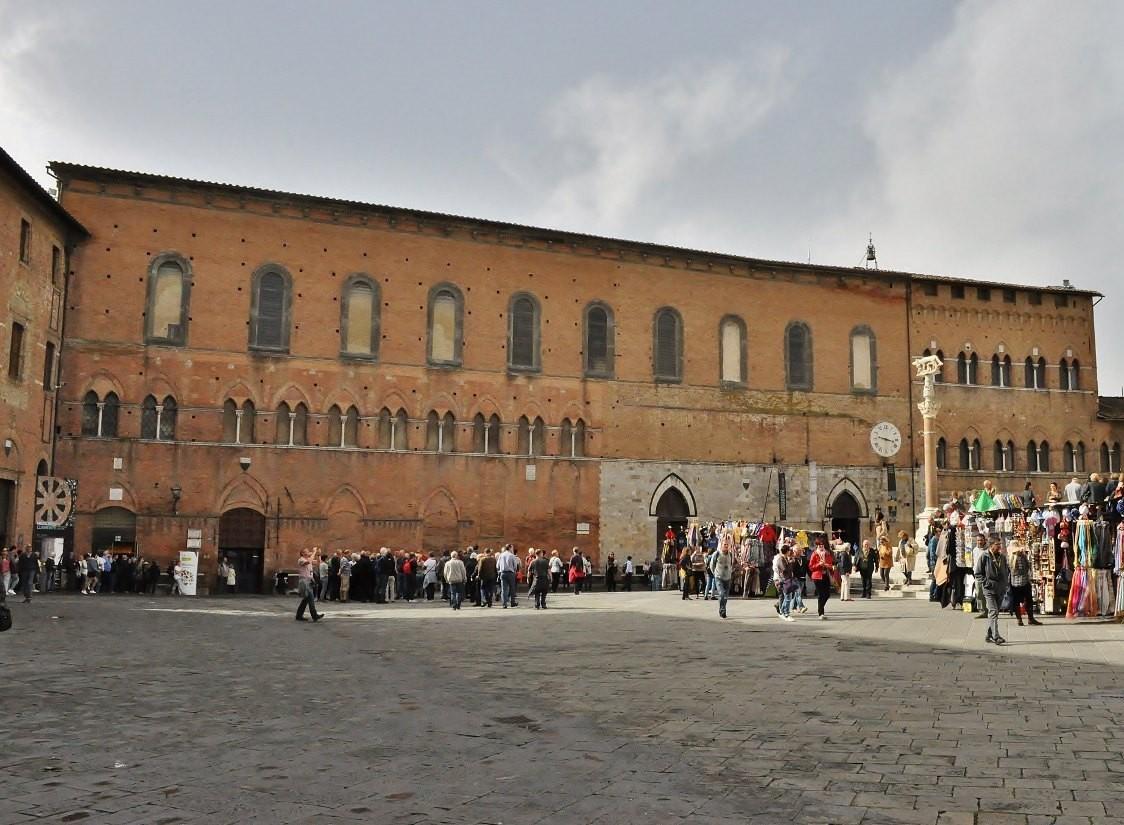 Zdjęcia: Siena, Toskania, Siena, plac katedralny, WłOCHY