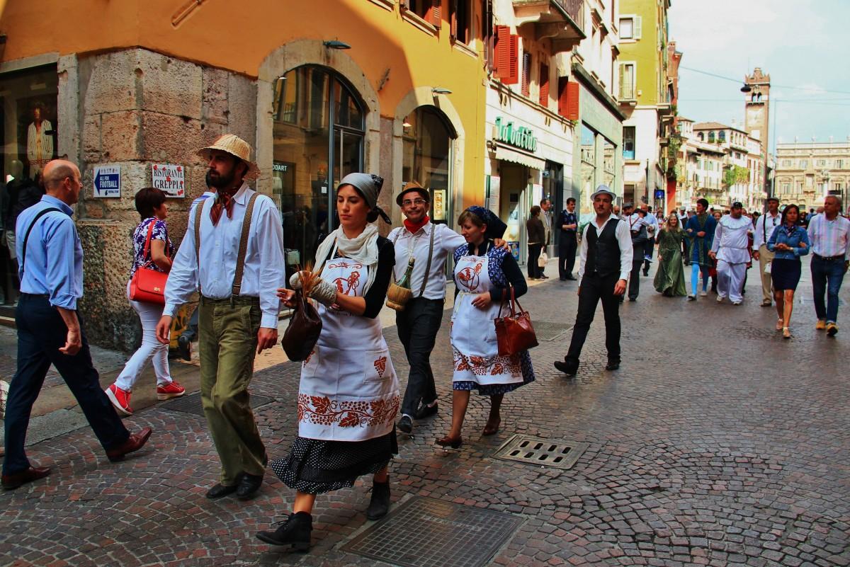 Zdjęcia: Werona, Wenecja Euganejska, Ulicami Werony, WłOCHY