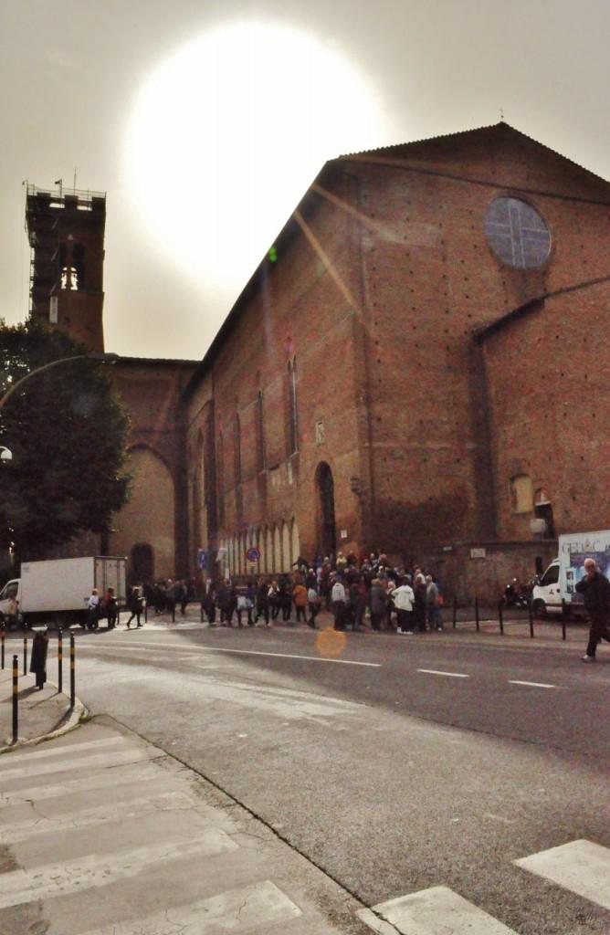 Zdjęcia: Siena, Toskania, Siena, bazylika św. Dominika, WłOCHY