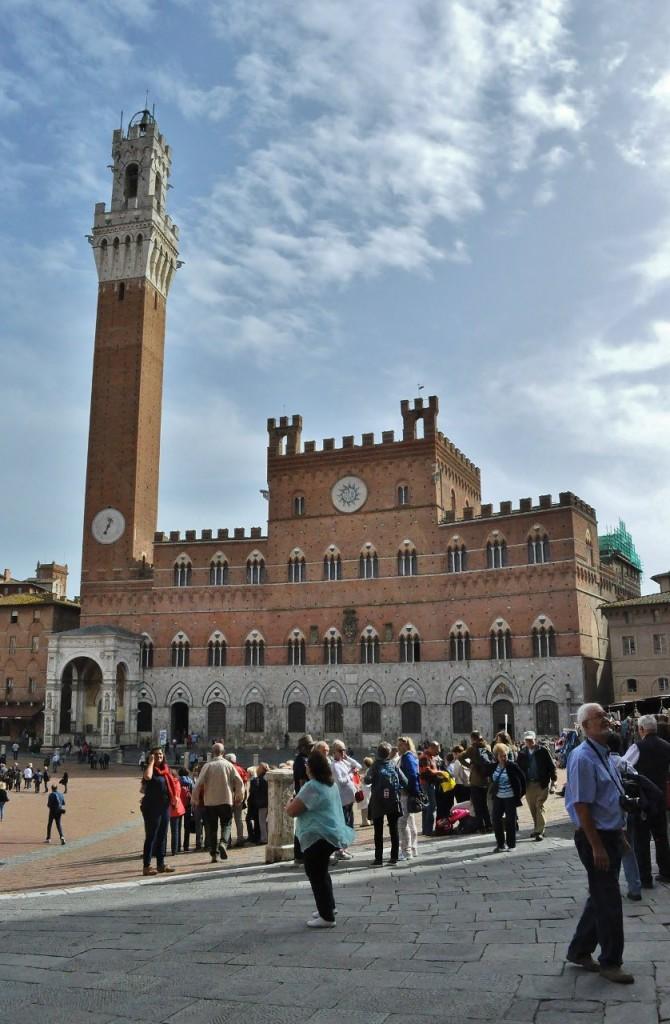Zdjęcia: Siena, Toskania, Siena, Palazzo Pubblico, WłOCHY