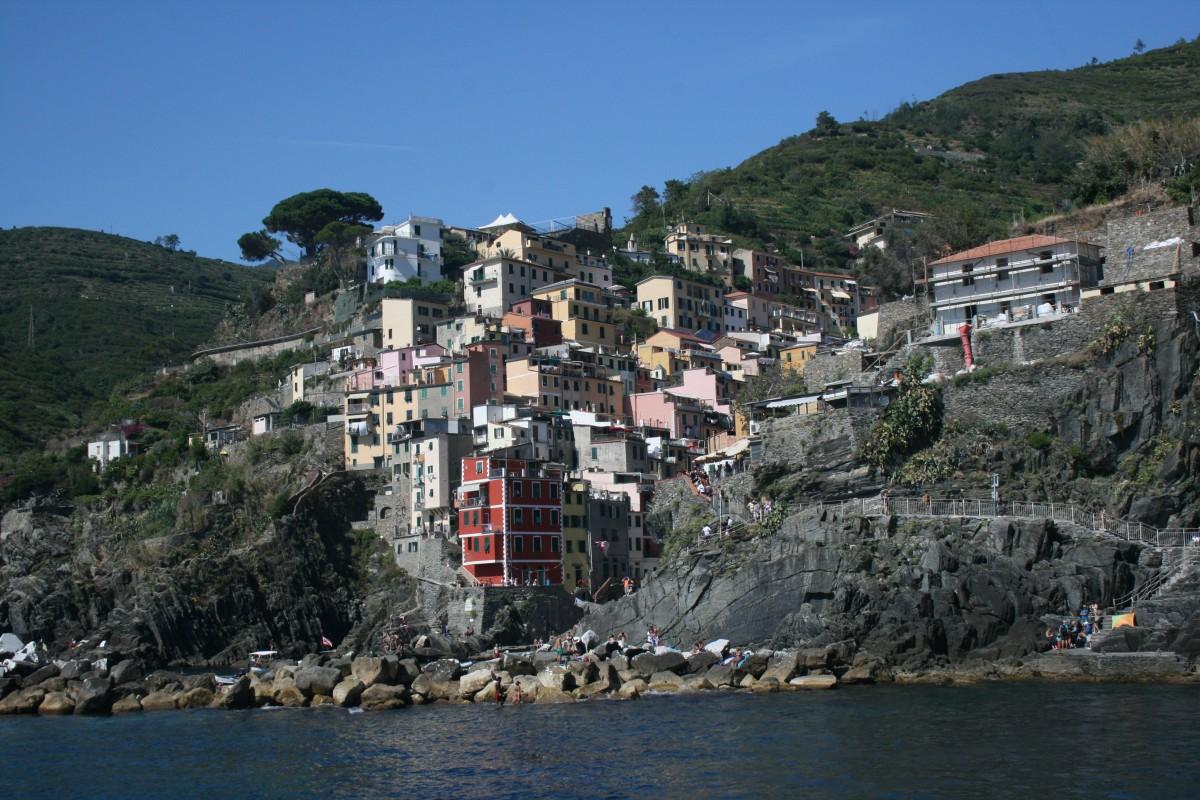 Zdjęcia: Riomaggiore, Riwiera Liguryjska, Cinque Terre, WłOCHY