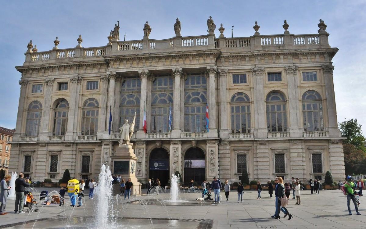 Zdjęcia: Turyn, Piemont, Turyn, Palazzo Madama, WłOCHY