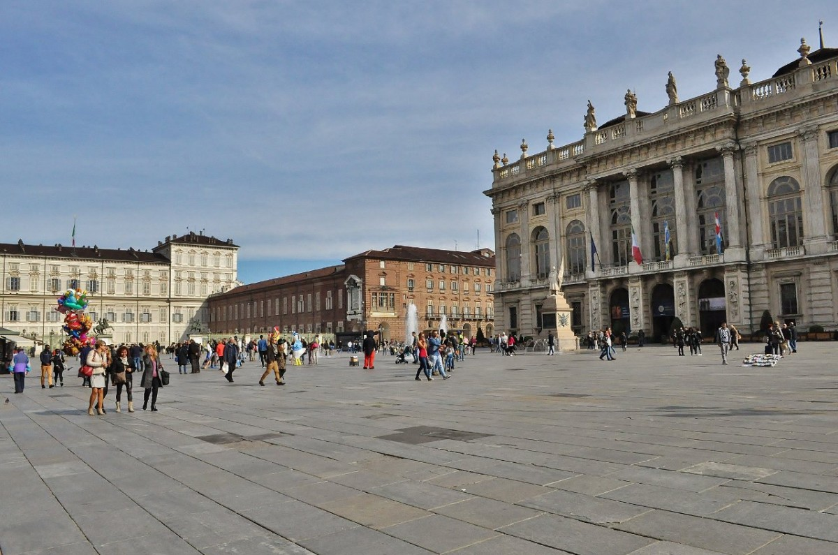 Zdjęcia: Turyn, Piemont, Turyn, serce starego miasta, WłOCHY