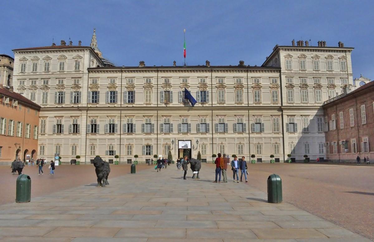 Zdjęcia: Turyn, Piemont, Turyn, Palazzo Reale, WłOCHY
