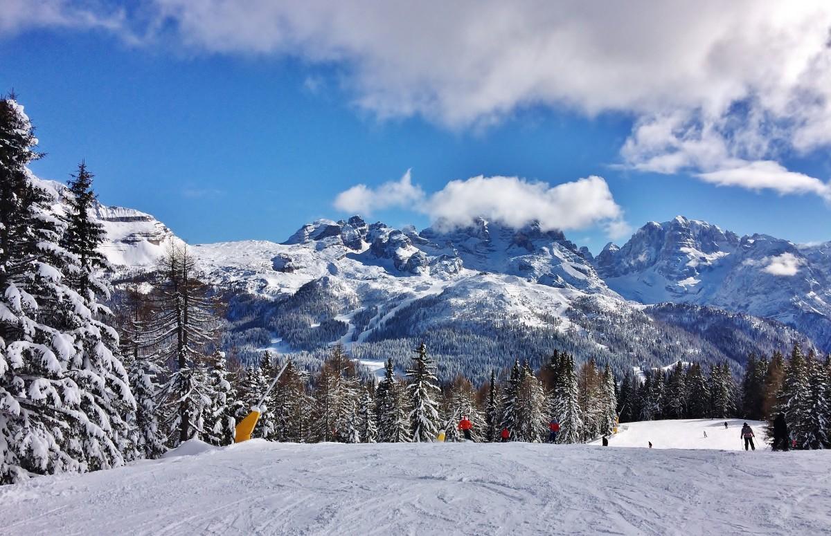 Zdjęcia: Pinzolo, Val di Sole, Zimowe ładowanie akumulatorów, WłOCHY