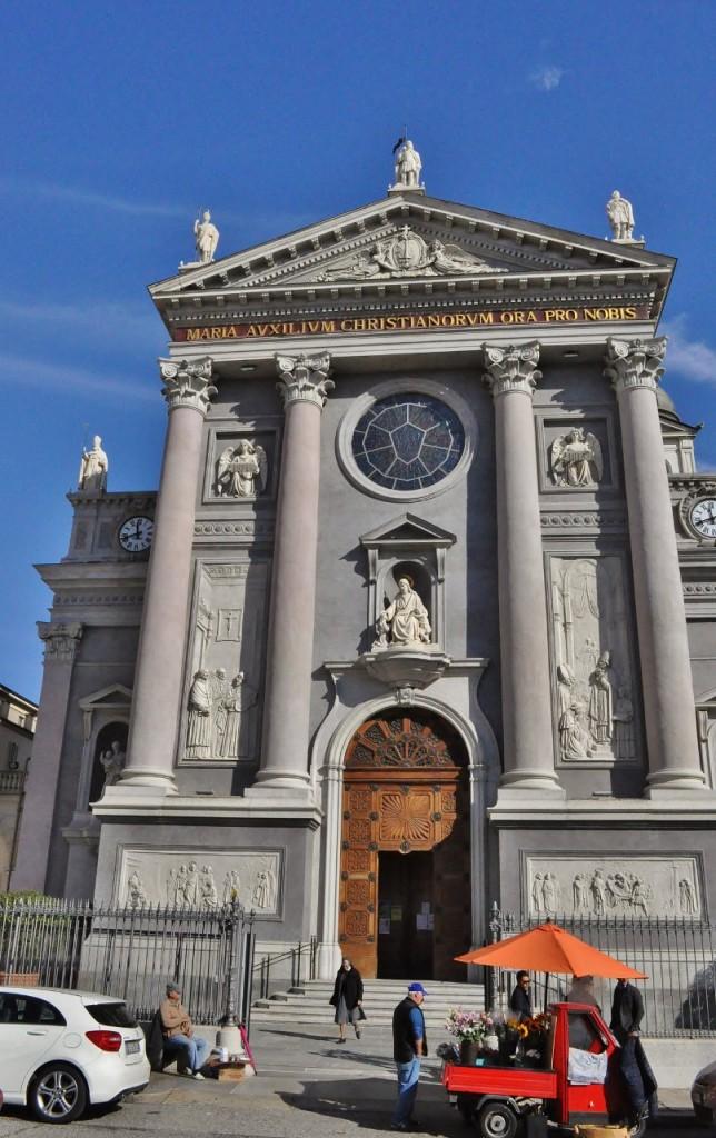 Zdjęcia: Turyn, Piemont, Turyn, u św. Jana Bosko, WłOCHY