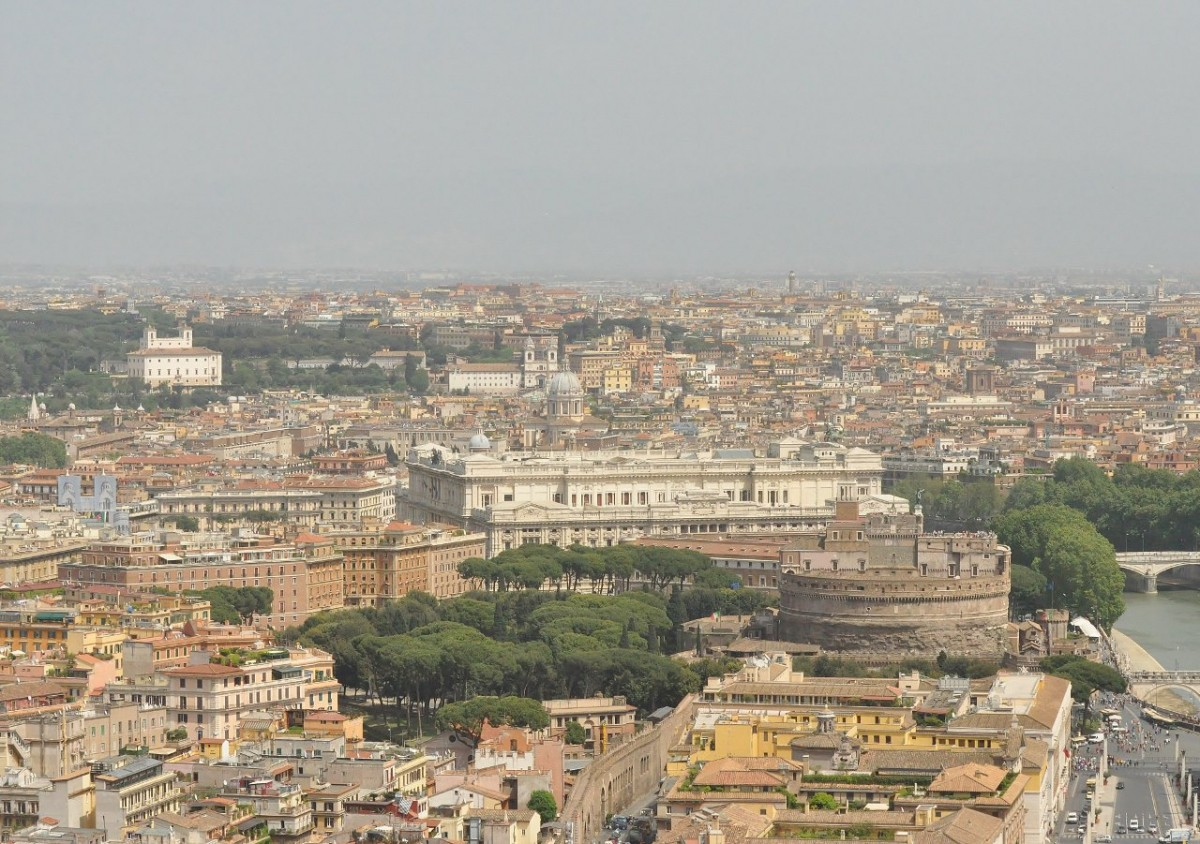 Zdjęcia: Rzym, Lazio, Rzym, panorama, WłOCHY