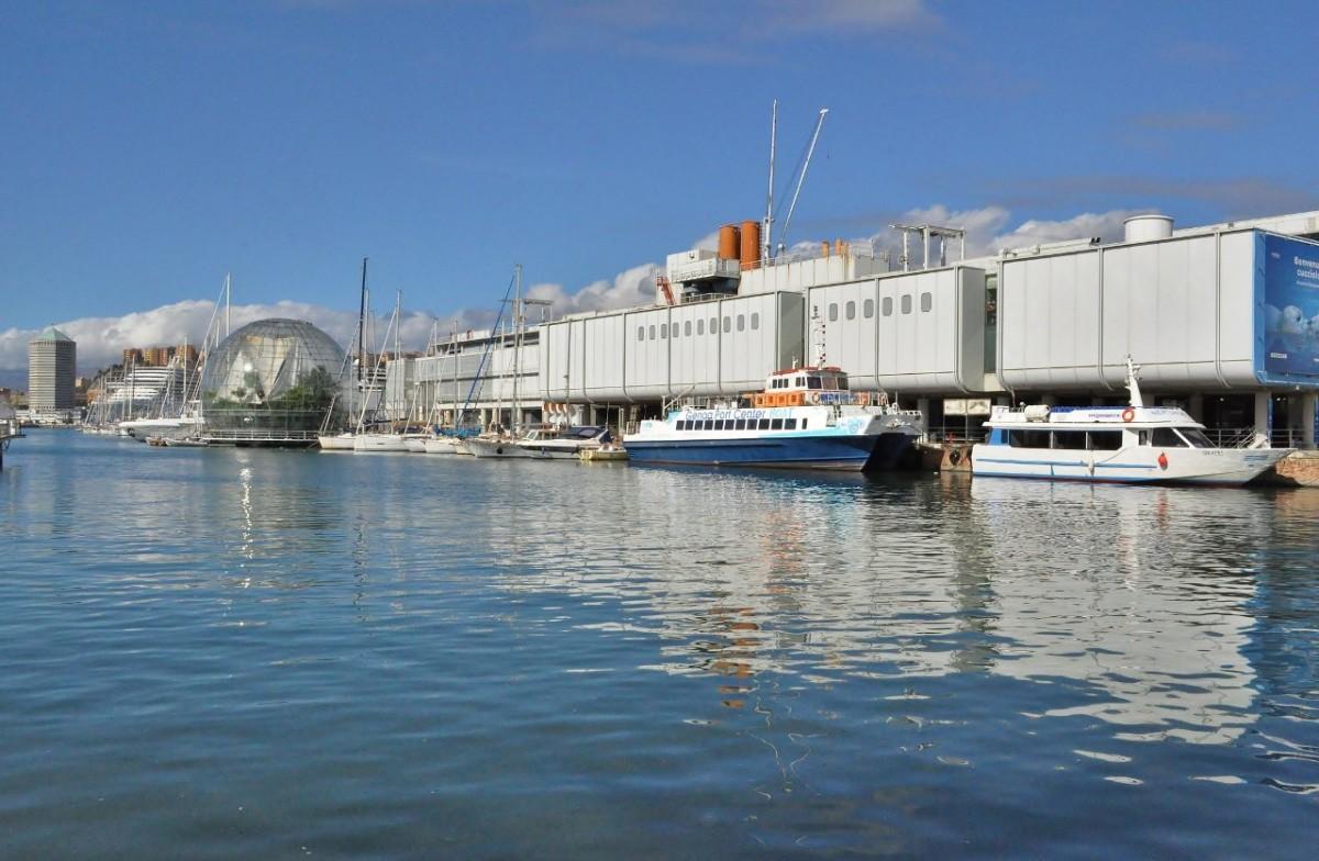 Zdjęcia: Genua, Liguria, Genua, port, WłOCHY