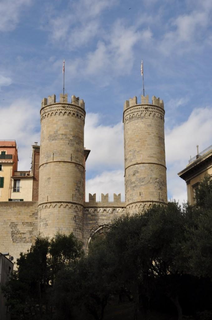 Zdjęcia: Genua, Liguria, Genua, mury, WłOCHY