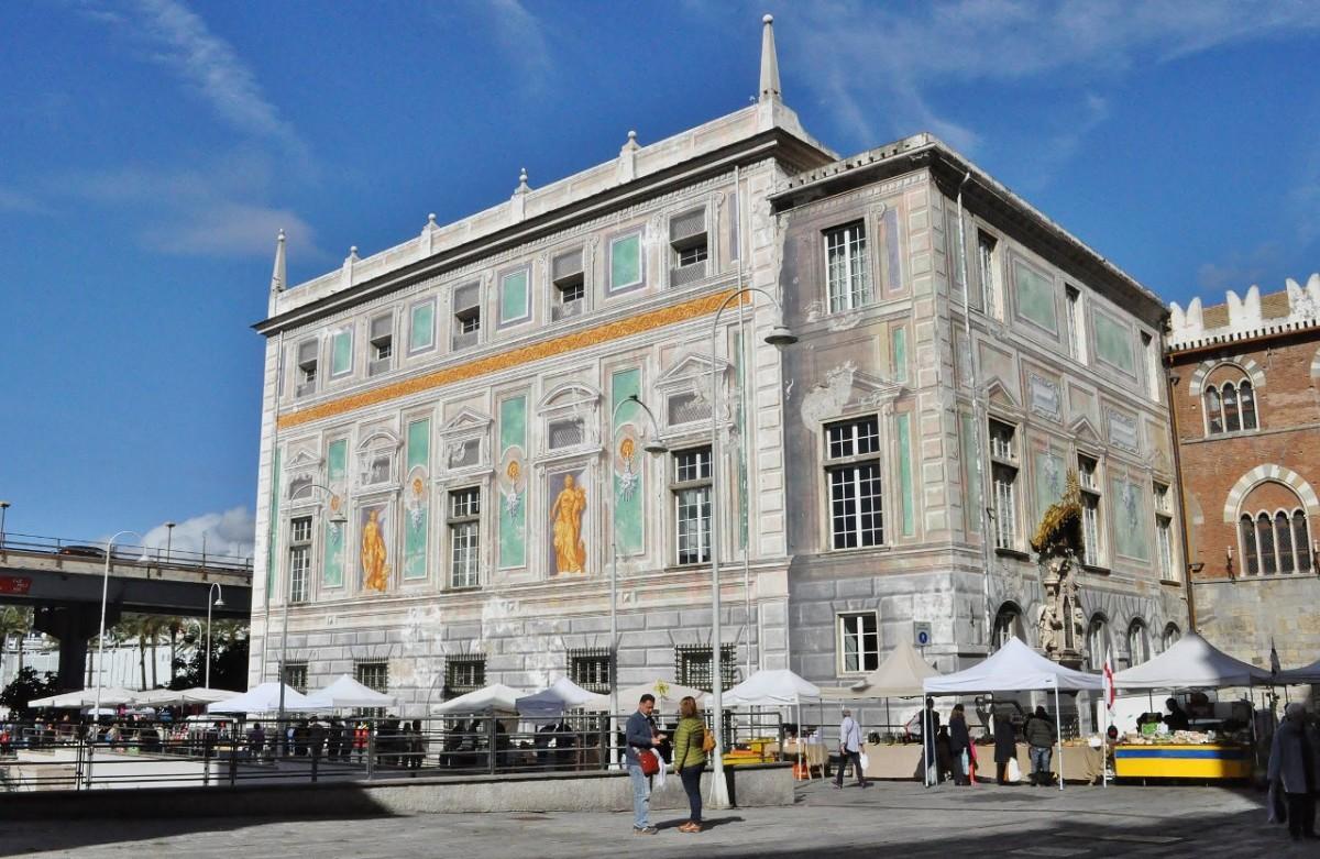 Zdjęcia: Genua, Liguria, Genua, Palazzo San Giorgio, WłOCHY