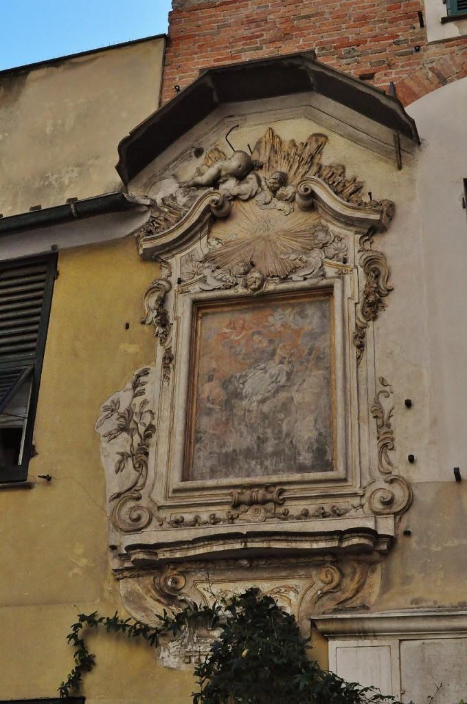 Zdjęcia: Genua, Liguria, Genua, kamienice, WłOCHY