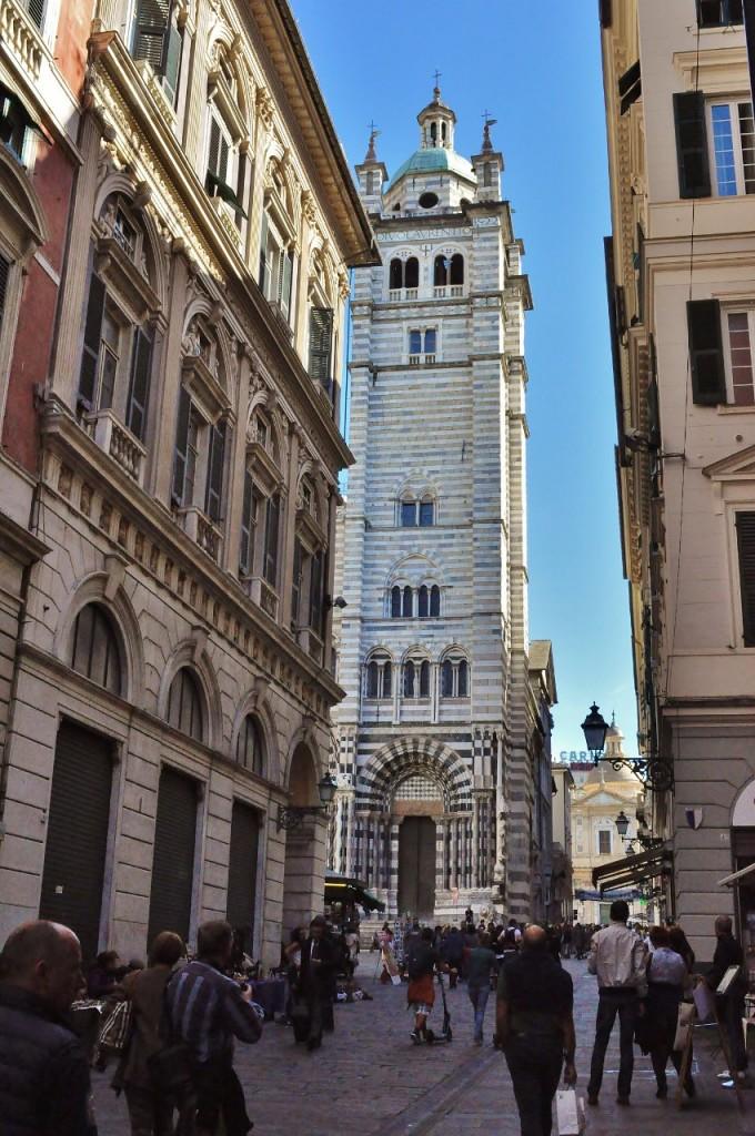 Zdjęcia: Genua, Liguria, Genua, uliczki, WłOCHY