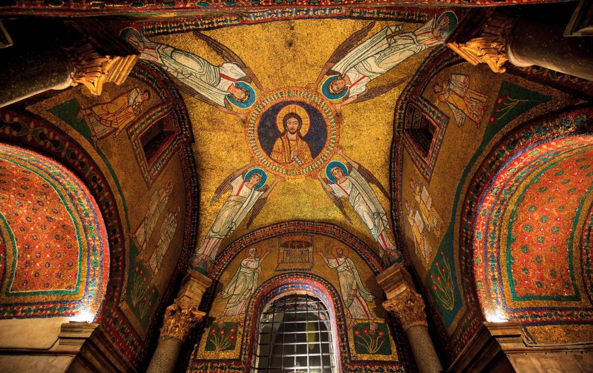 Zdjęcia: Kaplica św. Stefana, Rzym, Bazylika św. Praksedy, WłOCHY