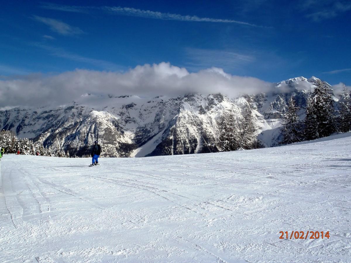 Zdjęcia:  Marilleva-Folgaria, Val di Sole, Narciarskie niebo, WłOCHY