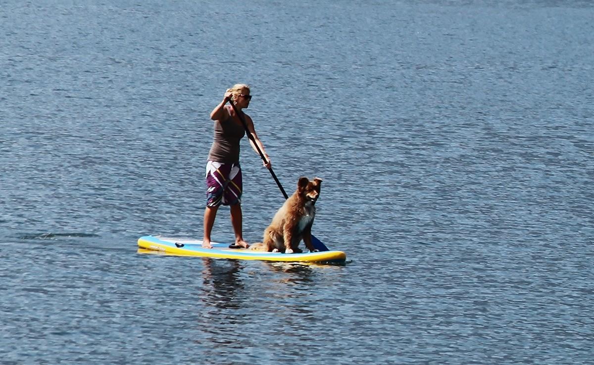 Zdjęcia: Jezioro Como, Lombardia, Stand Up Paddle ze sternikiem, WłOCHY