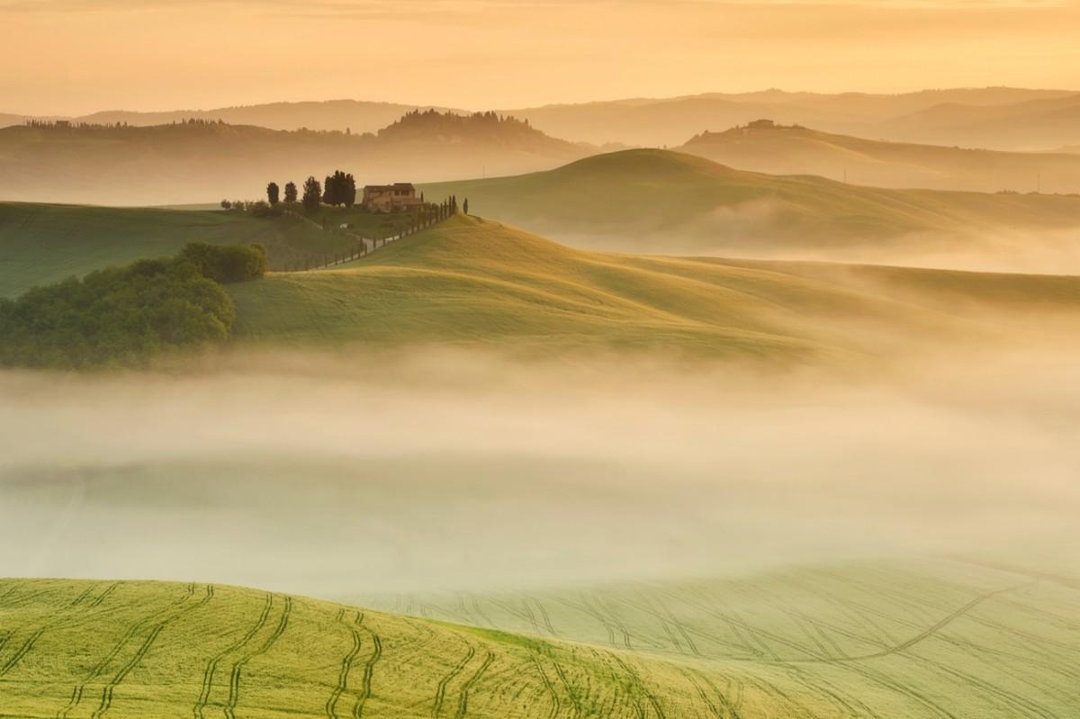 Zdjęcia: Pievina, Toskania, Morze mgieł, WłOCHY