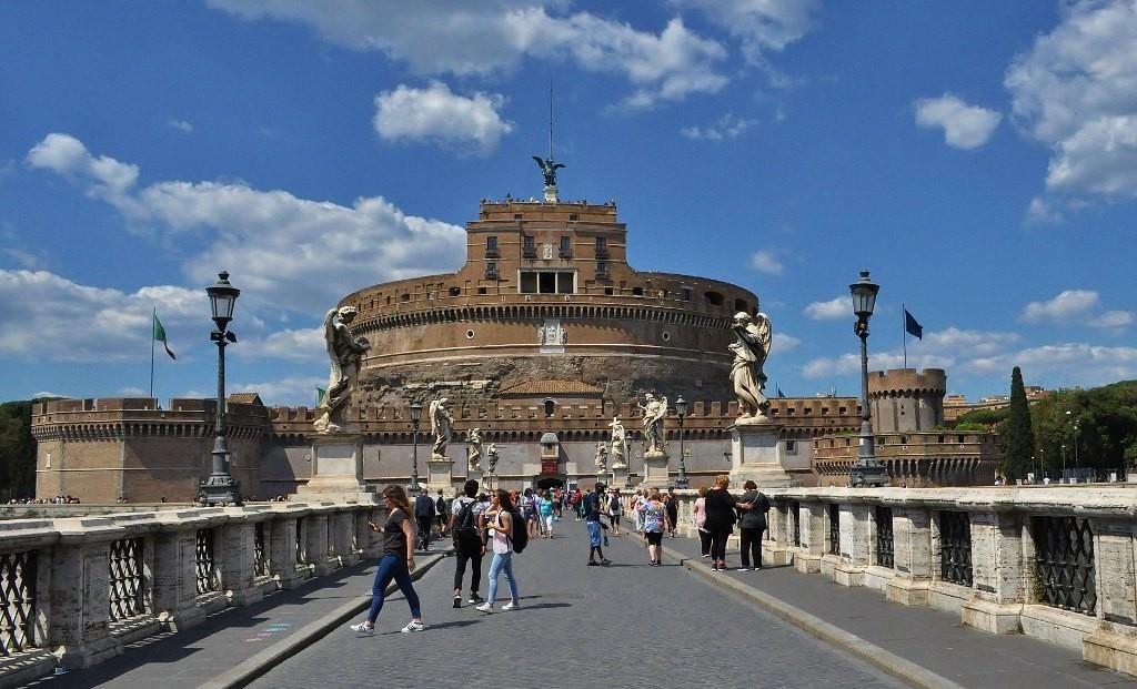 Zdjęcia: Rzym, Lazio, Watykan, zamek Anioła, WłOCHY