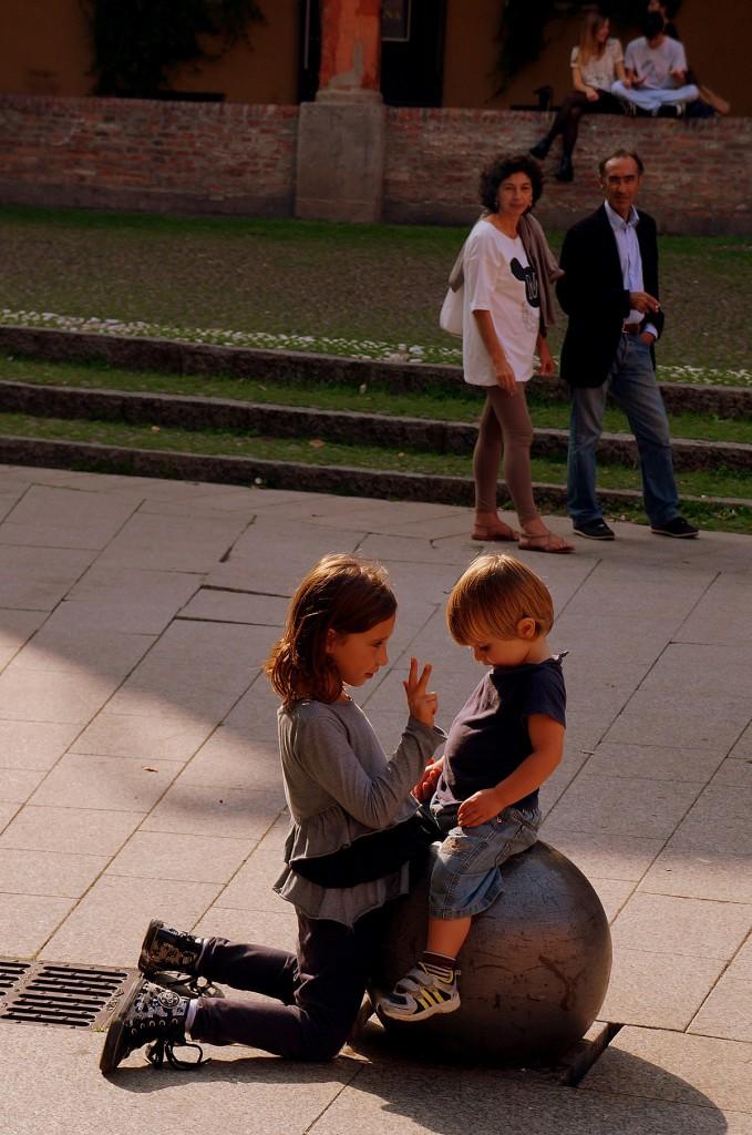 Zdjęcia: Bolonia, Emilia-Romania, W parach..., WłOCHY