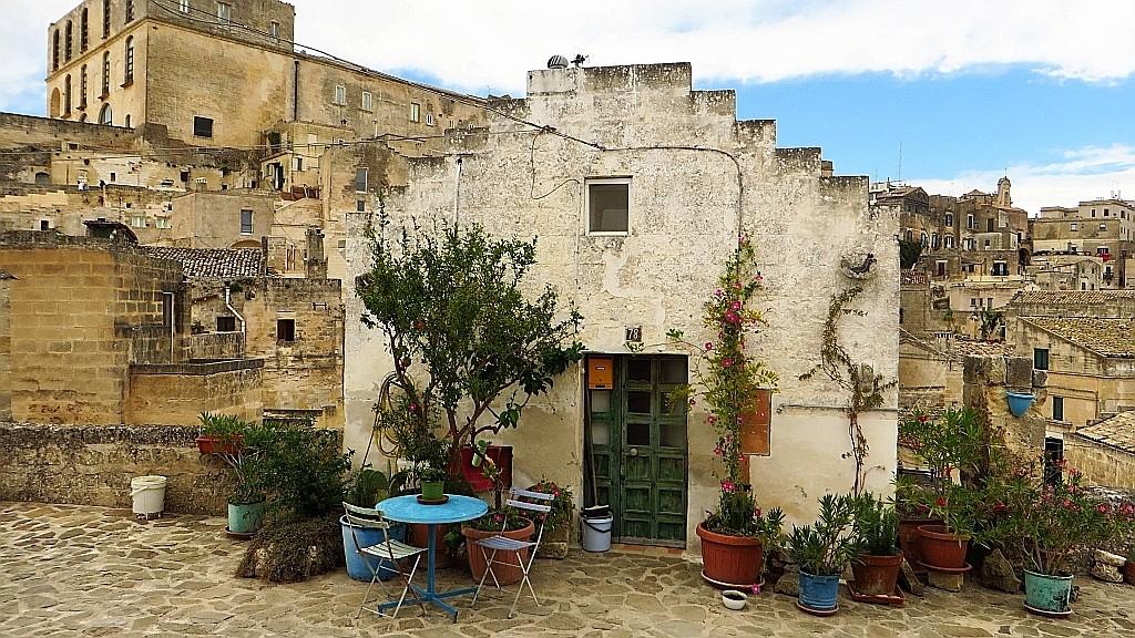 Zdjęcia: Matera, Basilicata, przykładowe mieszkanie w Sasso Barisano, WłOCHY