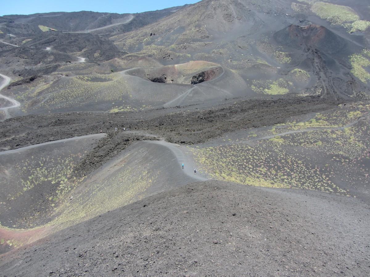 Zdjęcia: w drodze na Etnę, Sycylia, Etna, WłOCHY