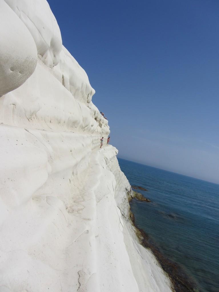 Zdjęcia: południe Sycylii, w pobliżu Agrigento, Sycylia, Schody tureckie, WłOCHY