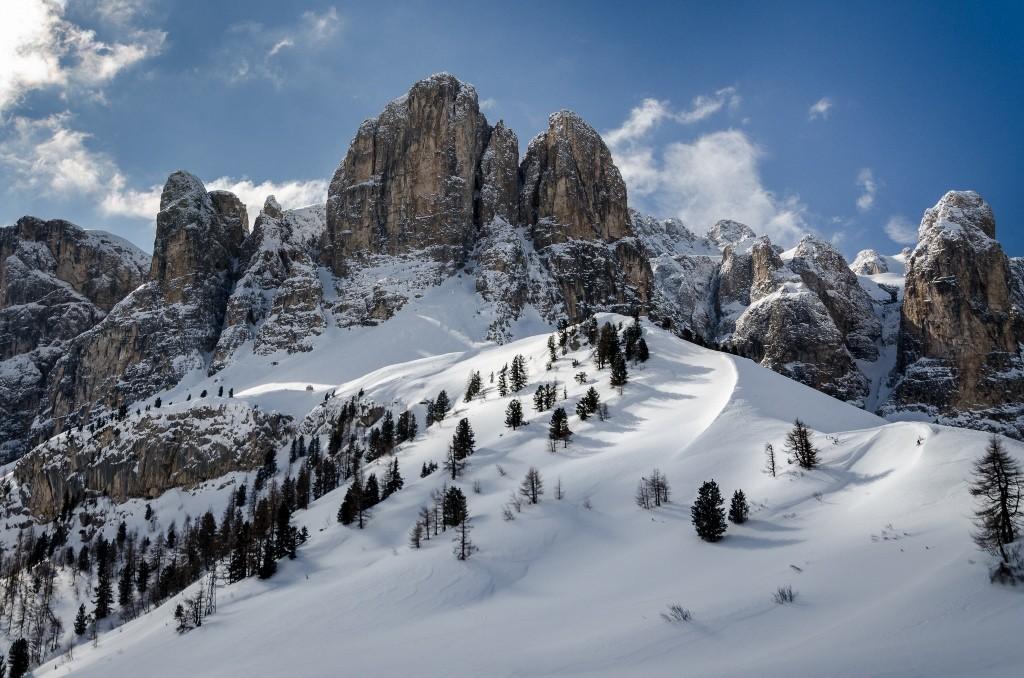 Zdjęcia: Dolomity, Trydent, wieże..., WłOCHY