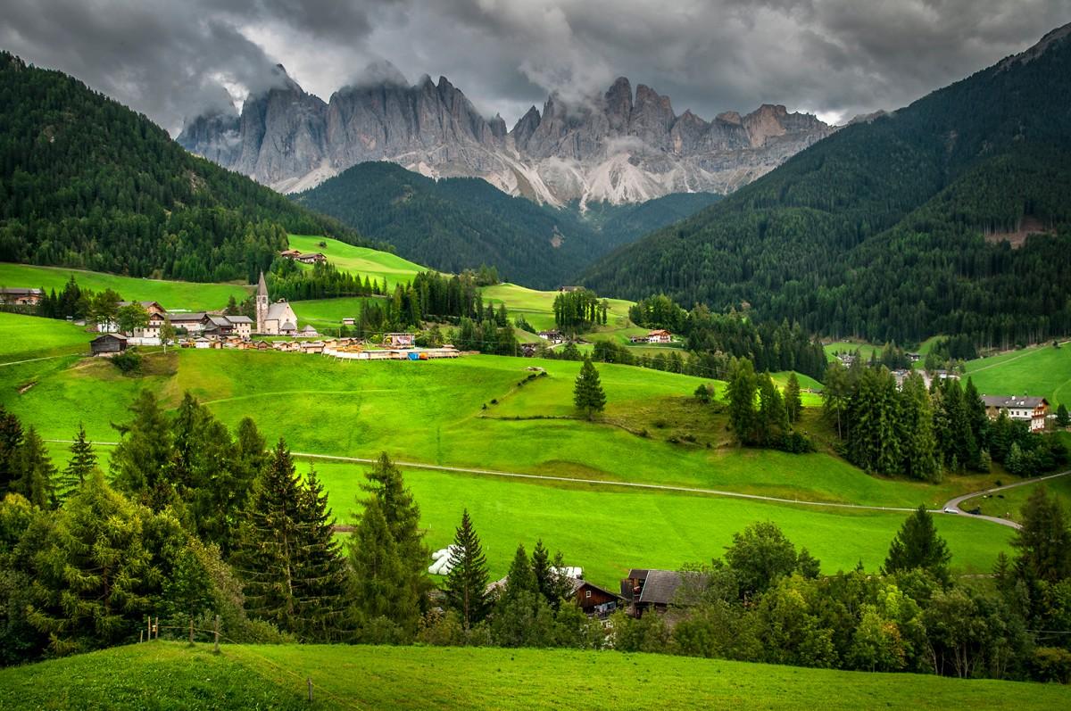 Zdjęcia: Santa Maddalena, Dolomity, Dolomity, WłOCHY